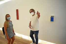 El «minimalismo» y «juegos mentales» de Xavier Fiol y Rafa Forteza, en Madrid