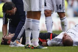 Pepe abandona el hospital