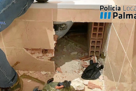 El clan de 'La Brígida' escondía parte del dinero de la droga debajo de la bañera