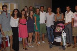 Fiesta de cumpleaños y onomástica de Lorenzo Galmés