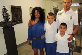 Joan Riera Ferrari y Ernesto Rodríguez inauguran en Marimón de Can Picafort