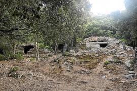 Los 'aljubs' del Castell d'Alaró, en peligro por la falta de inversión en su conservación