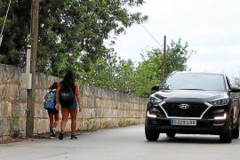Vecinos de Son Ametller reclaman al Govern poder disponer de transporte escolar
