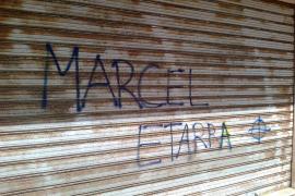Endavant denuncia pintadas en el domicilio  de uno de sus militantes