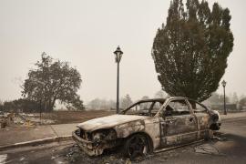 Hallado el cuerpo sin vida de un niño abrazando a su perro mientras huía de los incendios en Oregon