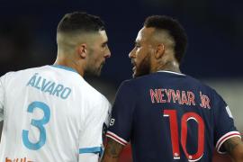 Neymar acusa de racismo al defensa español Álvaro González tras ser expulsado en el PSG-Olympique