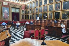 Més vota con la oposición en el pleno extraordinario de Cort