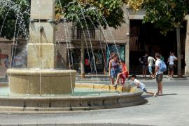 El calor no dará tregua mañana a Balears, con temperaturas de hasta 38 grados