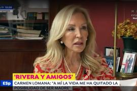 Carmen Lomana se sincera: «La vida me ha quitado la posibilidad de ser madre»