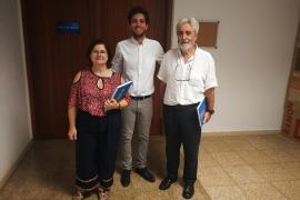 Francisca Serra, Sebastià Galmés y Andreu Palou