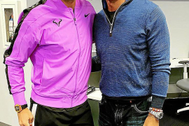 Rafa Nadal y Tiger Woods