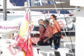 Jesús Calleja rueda con Fernando Simón en Mallorca