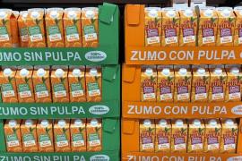 Los zumos de naranja 100% natural de Mercadona se renuevan