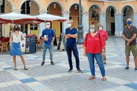 La luz natural entrará en las futuras galerías de la Plaça Major de Palma
