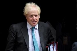 Johnson considera que la UE no negocia de buena fe el acuerdo comercial con Reino Unido