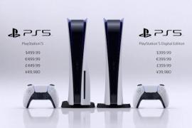 PS5 saldrá el 19 de noviembre a 399,99€
