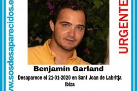 SOS Desaparecidos recuerda el caso de Ben Garland, cuyo rastro se perdió con la borrasca Gloria