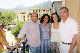 Blanca Marsillach viaja a las fiestas de Sóller con 'El toro y el banquero'