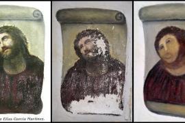 El antes y el después del 'Ecce  Homo' de Borja