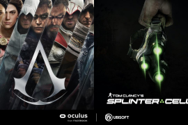 Assassin's Creed y Tom Clancy's Splinter Cell en realidad virtual