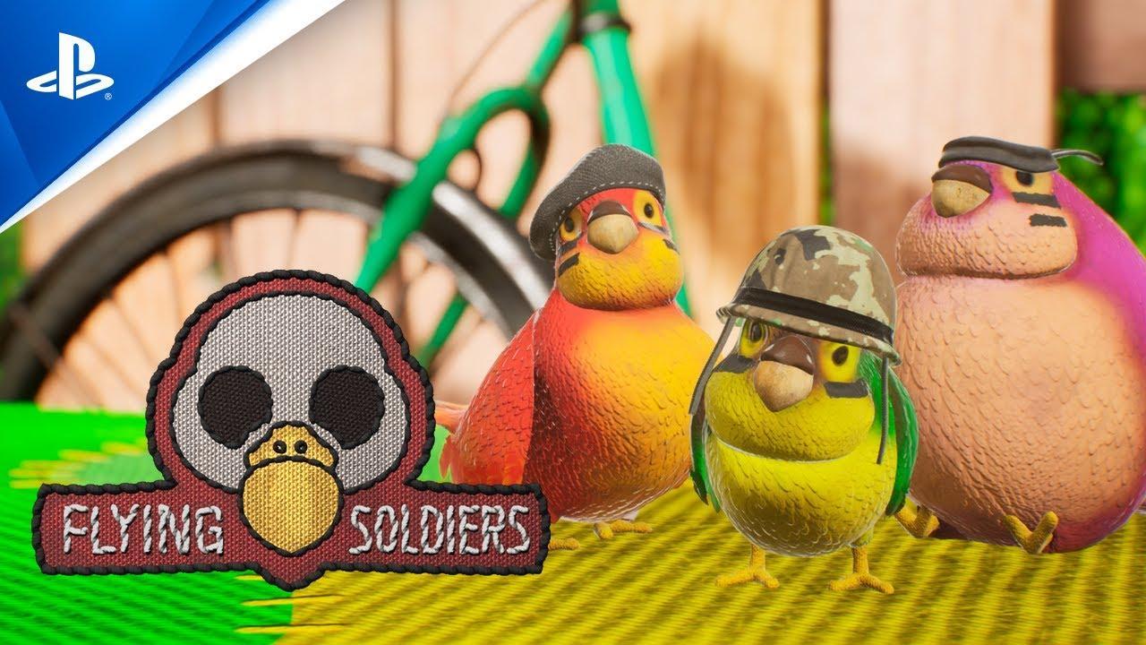 Ya disponible Flying Soldiers, un divertido juego de puzles en 3D para PlayStation 4