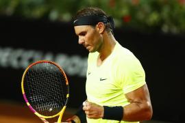 Rafa NAdal en el Open de Roma