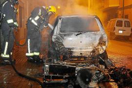 Tercera moto incendiada por un pirómano en una semana en Palma