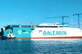 Baleària bota el «primer 'fast ferry' del mundo» con motores a gas natural