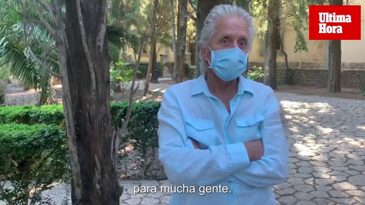 Michael Douglas: «Estos meses en Mallorca han sido maravillosos»