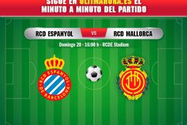 Así ha sido el Espanyol - Real Mallorca