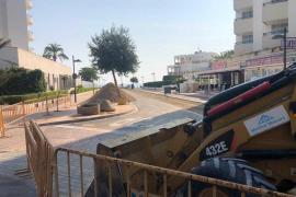 La mejora del carrer Baladres en Sant Llorenç da prioridad a los peatones y apuesta por la cultura