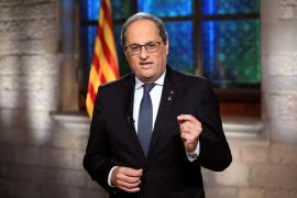 Torra recomienda a los catalanes no viajar a Madrid