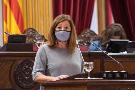 Armengol: «La situación en Baleares difiere de Madrid porque llevamos cinco años reforzando la sanidad»