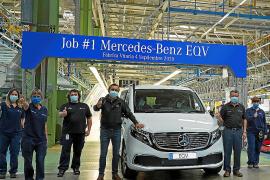 El primer Mercedes EQV sale de la factoría de Vitoria