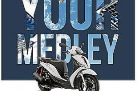 Piaggio mejora la promoción del New Medley 125