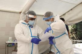 La incidencia del coronavirus se sitúa en 164,1 casos cada cien mil en Baleares