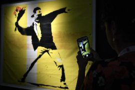 Banksy podría perder los derechos de sus obras si continúa bajo el anonimato