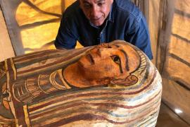 Descubiertos 27 sarcófagos milenarios en la antigua necrópolis de Saqqara