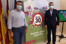 El 90 % de las calles de Palma tendrán una velocidad máxima de 30 a mediados de octubre