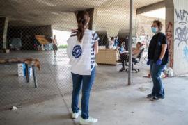 Médicos del Mundo denuncia el desalojo de indigentes del Parque Pocoyó de Palma