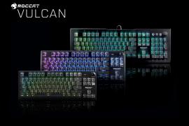 ROCCAT presenta nuevos teclados de la serie Vulcan