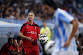 Caparrós cree que en el partido ante el Málaga «ha podido pasar de todo»