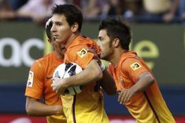 Messi rescata al Barcelona de la pesadilla del Reyno