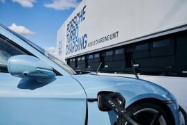 La solución de Porsche a la falta de cargadores para coches eléctricos