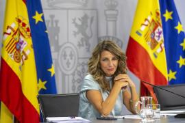 Díaz anuncia que el 'contador a cero' en los ERTE subirá a 196 días y una prestación para fijos-discontinuos