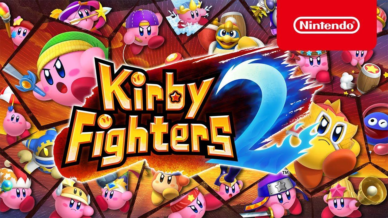 Kirby Fighters 2 aterriza hoy en Nintendo Switch