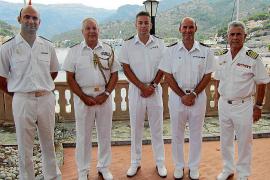 Dos buques de la Royal Navy visitan el Port de Sóller