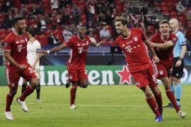 El Bayern, supercampeón de Europa al imponerse en la prórroga al Sevilla
