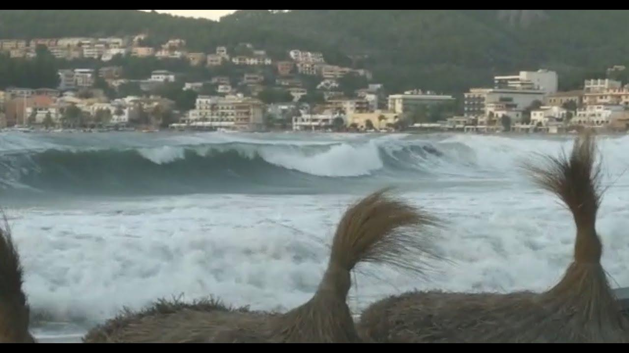 Las rachas de viento alcanzan récords históricos en Baleares en septiembre