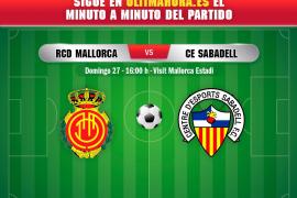 DIRECTO   Real Mallorca-Sabadell
